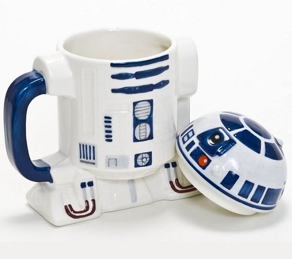 Kubek z pokrywką R2D2 Star Wars by Lucasfilm