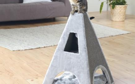 domek dla kota wieża tipi Trixie