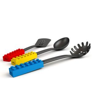Łyżki kuchenne klocki marki Doiy