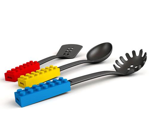 Łyżki kuchenne klocki Doiy Design