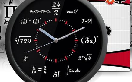 matematyczny zegar