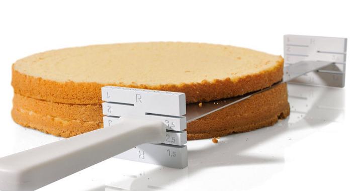 nóż do krojenia ciasta na warstwy Kaiser