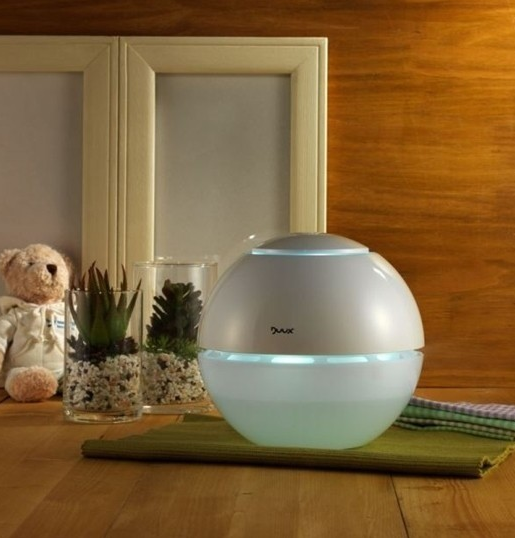 Ultradźwiękowy nawilżacz powietrza kula marki Duux