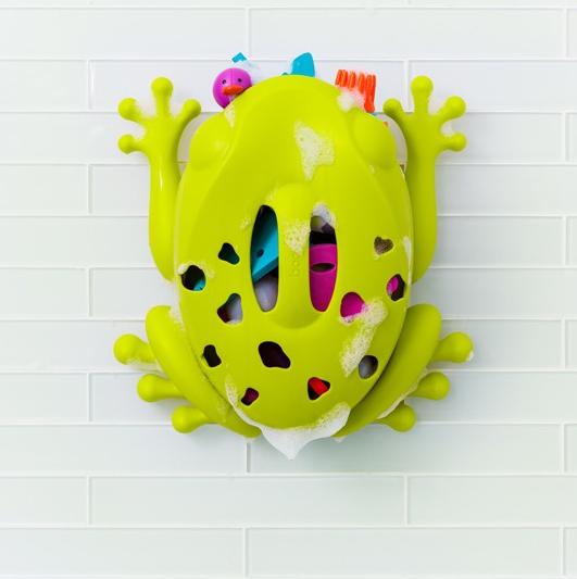 Organizer do zabawek kąpielowych żaba marki Boon