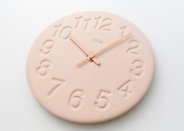 Pastelowy zegar jak cukierek marki Lemnos