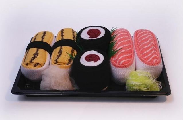 Skarpetki w zestawie Sushi marki JemSushi