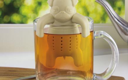 zaparzaczka do herbaty pies mops Noki