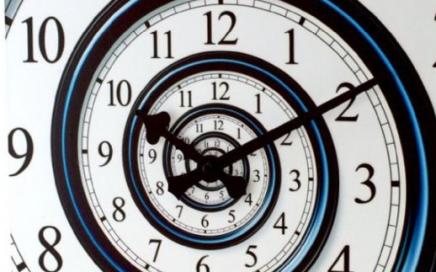 zegar spirala czasu