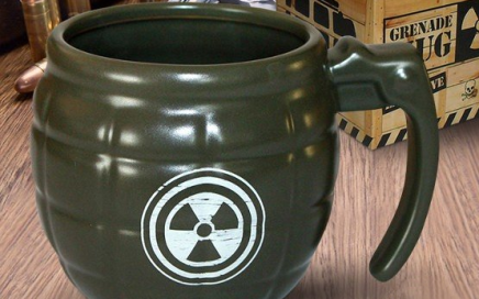 militarny kubek granat