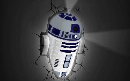 lampa scienna star wars R2D2