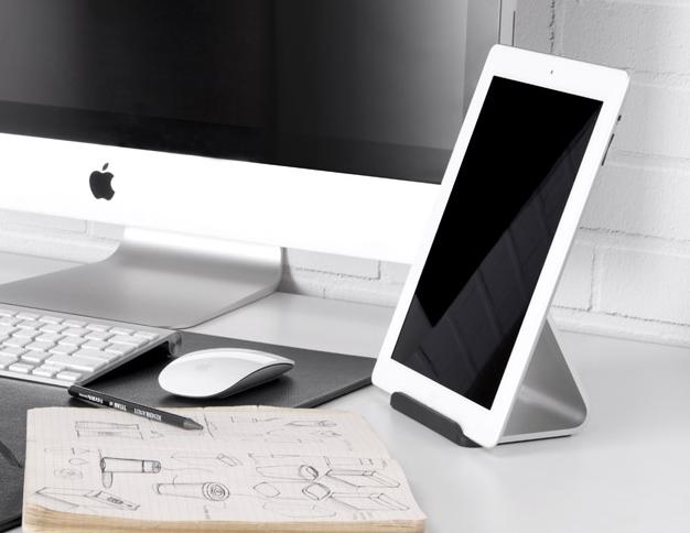 Uniwersalna minimalistyczna podstawka pod tablet Bluelounge
