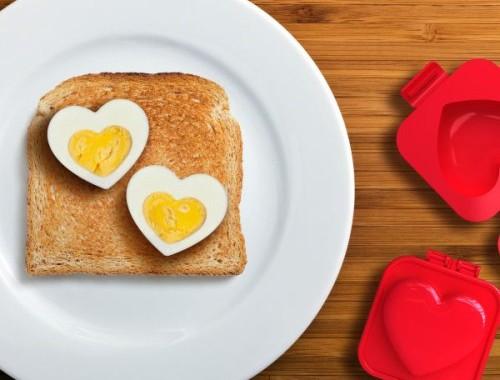 Zakochana foremka do jajek na twardo