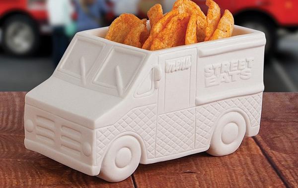 Naczynie na przekąski auto food truck