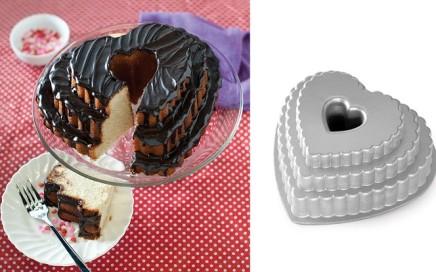 forma do ciasta serce warstwowe nordic