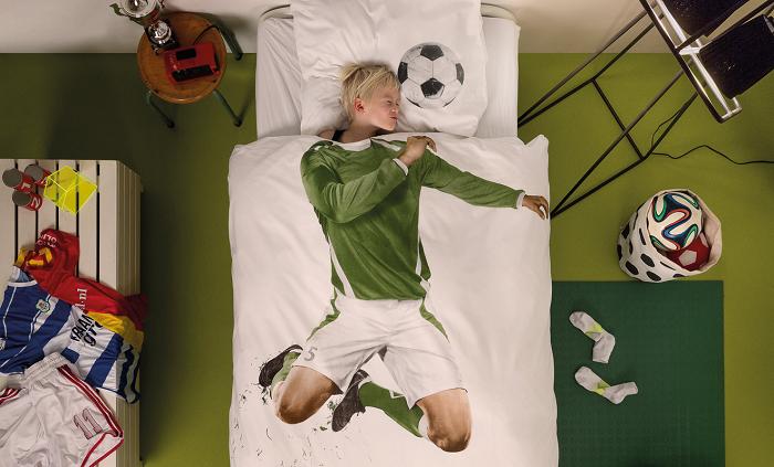Pościel spełnienie marzeń piłkarz marki Snurk