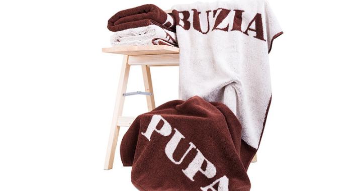 ręcznik buza pupa