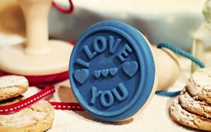 Stempel do ciastek I love you