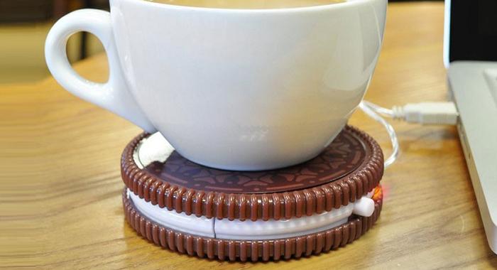 Podgrzewacz na USB w kształcie ciastka