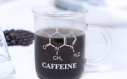 kubek chemika kofeina