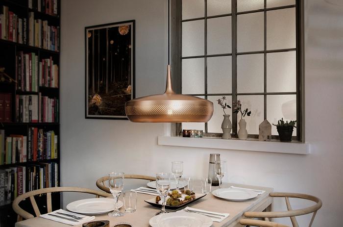 Metalowa lampa wisząca Clava Dine marki Vita Copenhagen