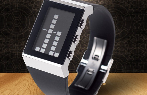 zegarek binarny Lexon