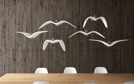 lampa latający ptak brokis