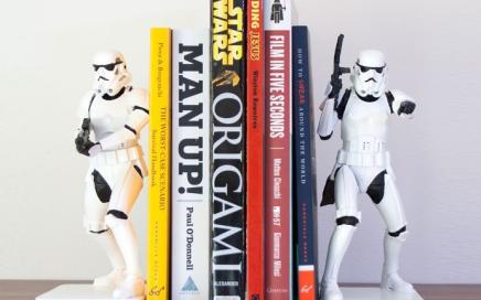 podpórka do książek star wars