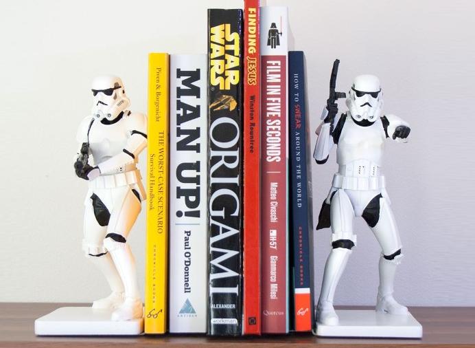 Podpórka do książek szturmowcy Star Wars