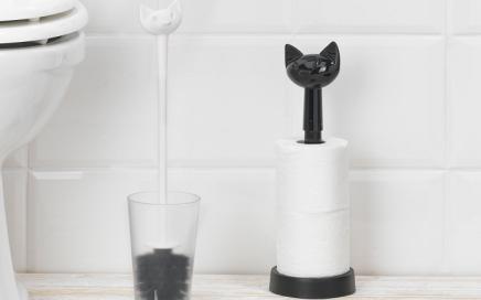 stojak na papier toaletowy kot koziol