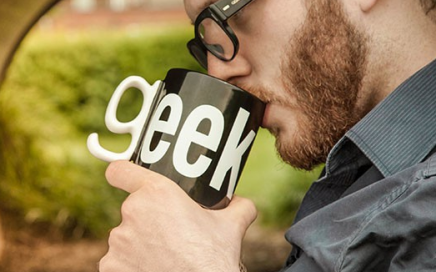Geek kubek thumbs Up