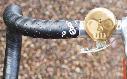 dzwonek rowerowy czaszka