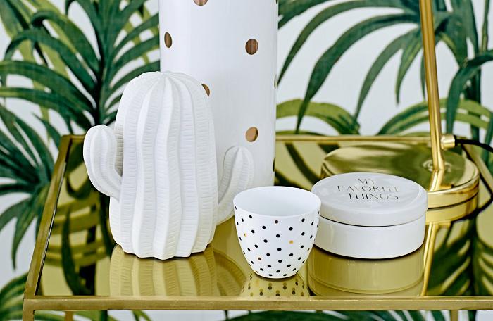 Ceramiczna figurka kaktus marki Bloomingville
