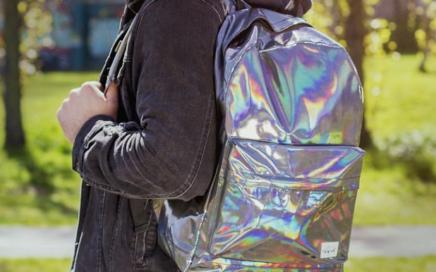 hologramowy plecak