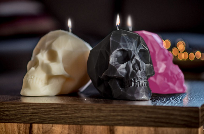 Świeczka czaszka 3D