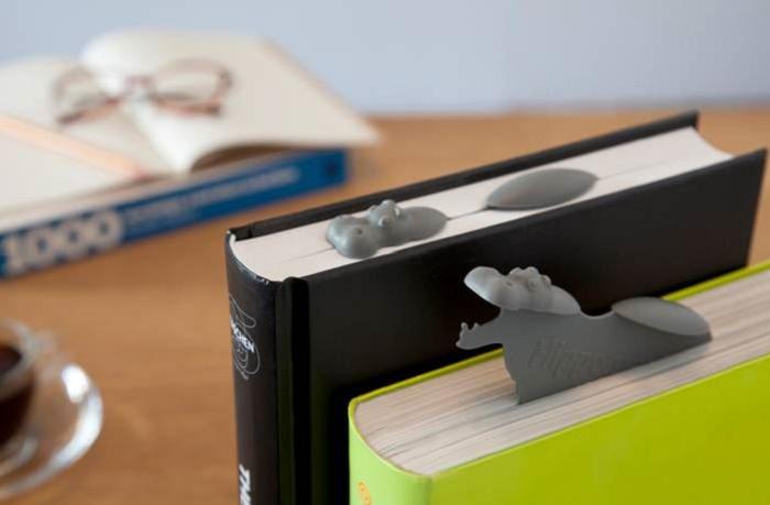 Zakładka do książki Hipopotam od Peleg Design