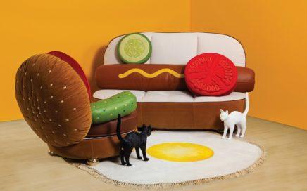 BLOW_Seletti - Hot-dog Sofa and BurgerChair (1)