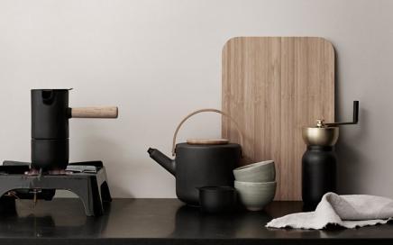 Kawowa kolekcja collar by Stelton