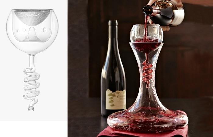 Aerator do wina kieliszek Twister