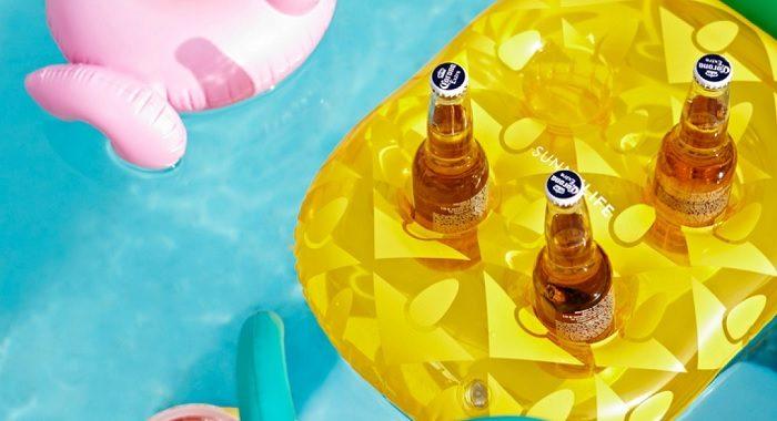 ananas napoje basen
