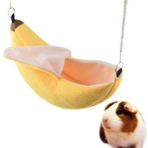 bananowy hamak dla chomika