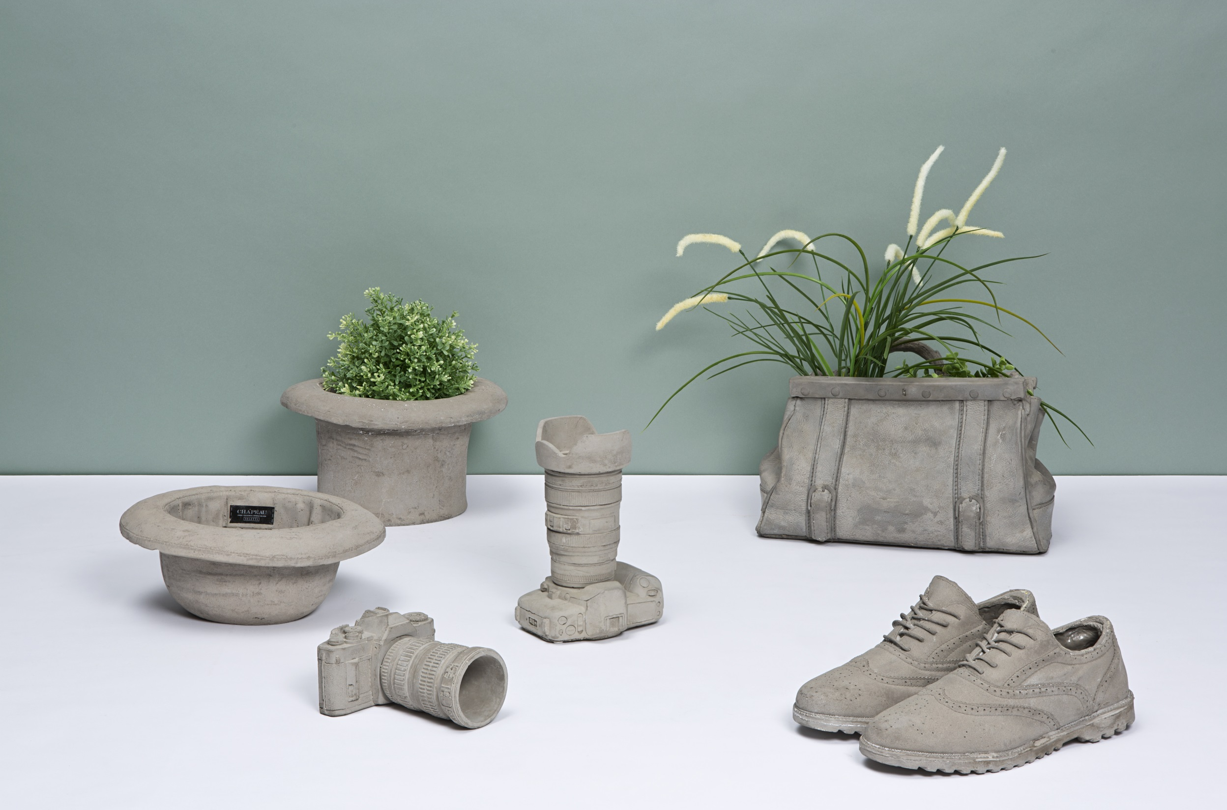 betonowe doniczki