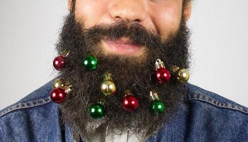 Bombki na brodę
