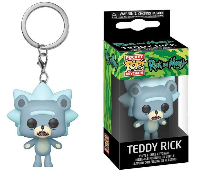brelok rick morty teddy rick