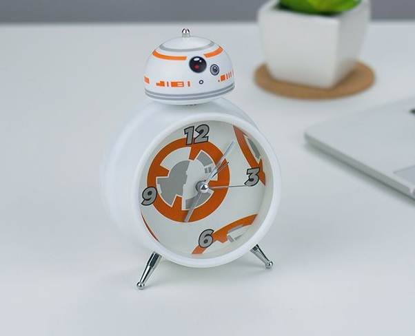 Budzik Star Wars BB-8