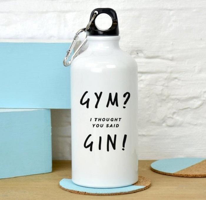 butelka gin gym
