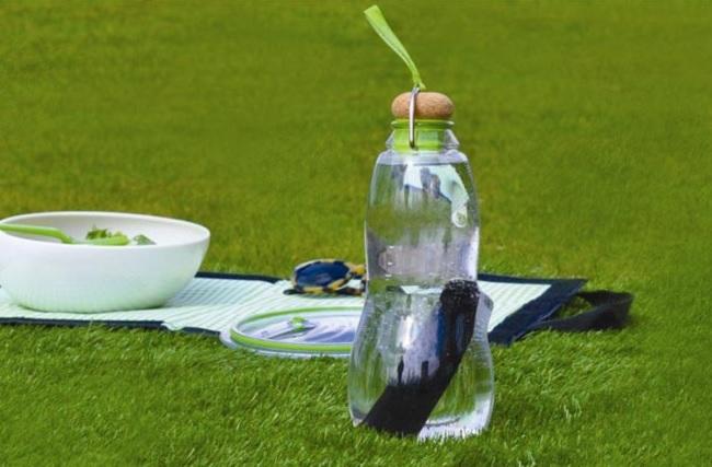 butelka z filtrem weglowym