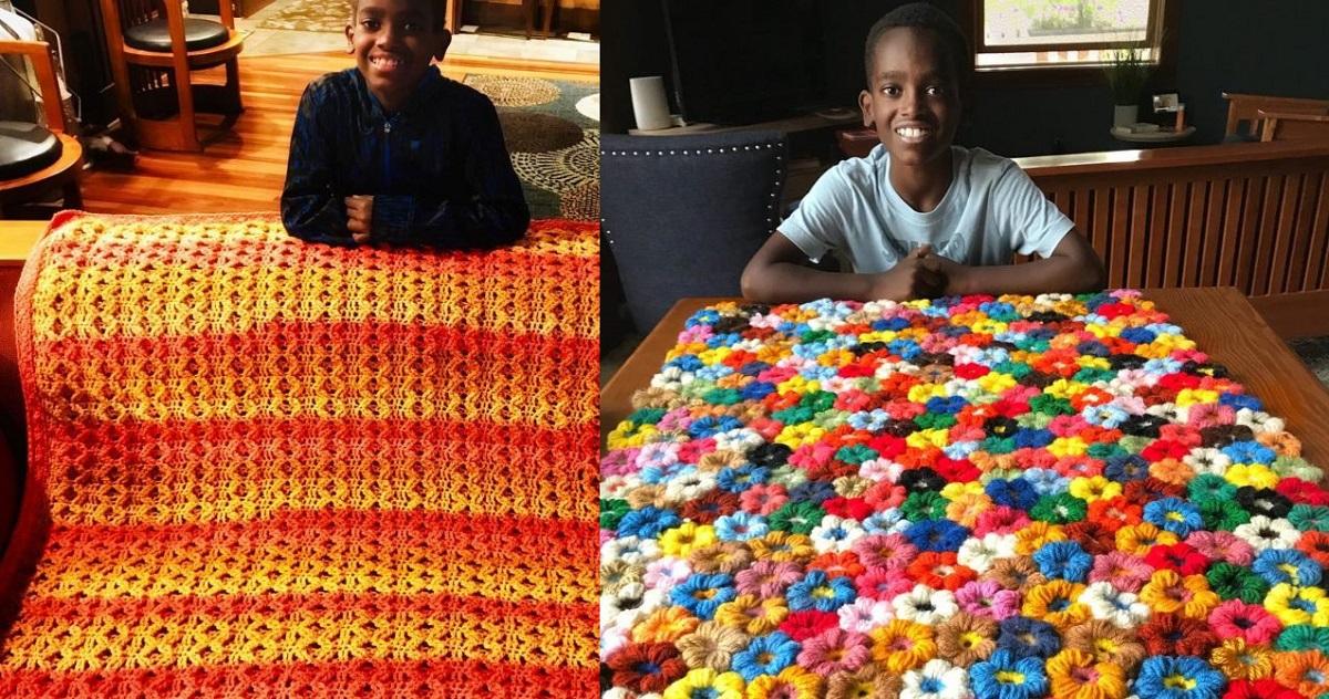 Poznajcie 11-latka, który stał się gwiazdą szydełkowania