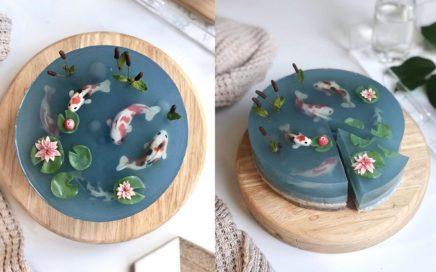 ciasto jeziorko koi