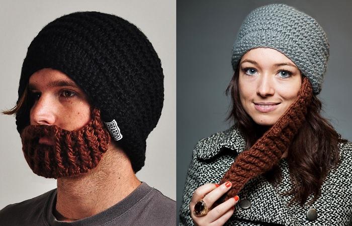 czapka z broda
