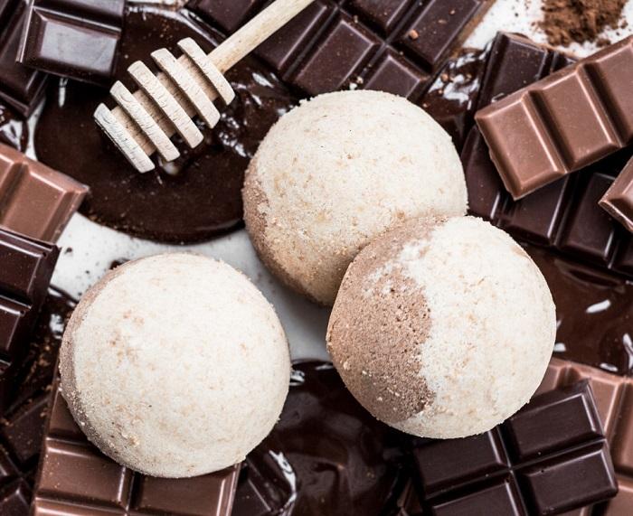 czekoladowa kula do kapieli